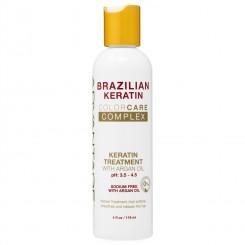 BRAZILIAN KERATIN TREATMENT WITH ARGAN OIL 4 OZ ORIGINAL